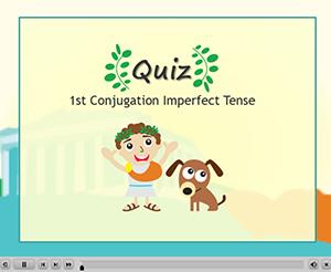1st Conjugation Imperfect Tense Quiz