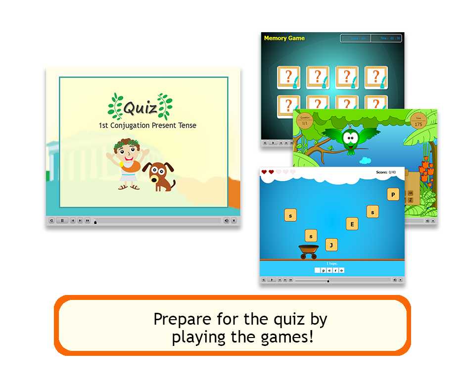 Games and Quiz slider
