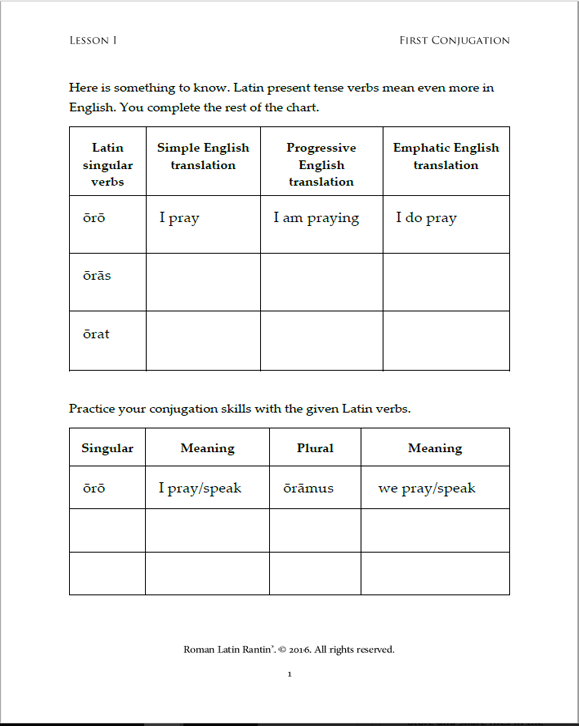 Lesson 1 Student Activity